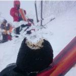 -10℃の冬山で凍らなかったおにぎり