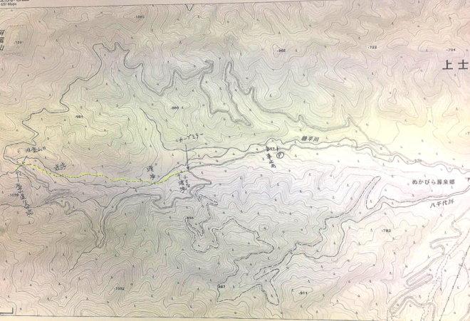 ウペペサンケ山林道短縮路