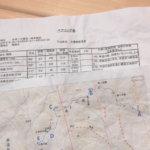 ベアリング表と地図はセットで