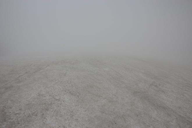 登山視界不良