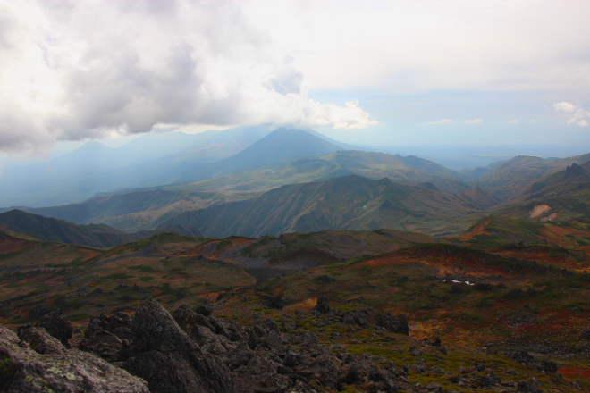 トムラウシ山よりオプタテシケ方向