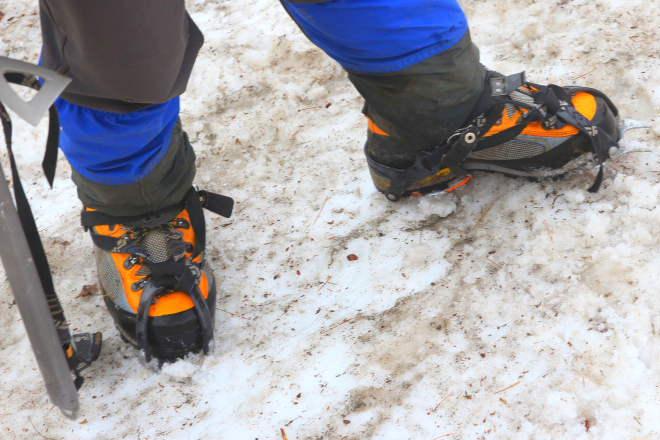 3シーズン用の登山靴