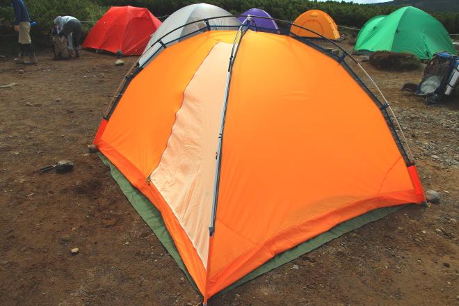 吊下げ式テント