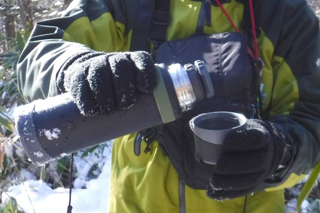 テルモス山専用ステンレスボトル