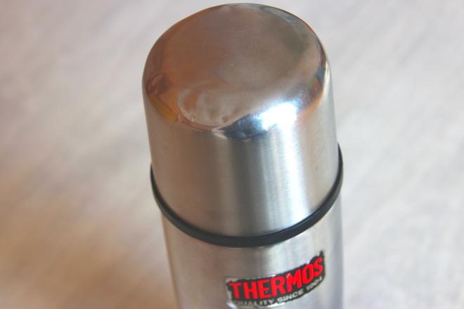 使い込んだサーモスボトル