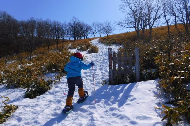子ども用スノーシュー 滑りやすい