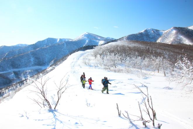 氷点下20度の冬山
