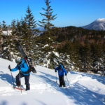 スノーシュー登山