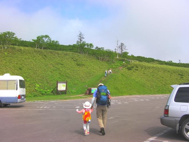 藻琴山 登山口