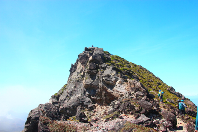 美瑛岳山頂