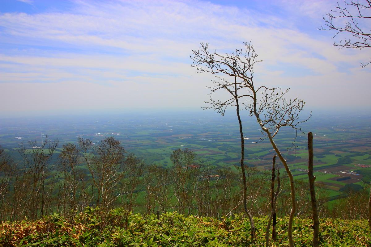 東ヌプカウシヌプリから見た十勝平野